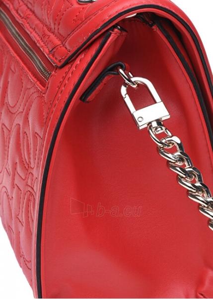 Rankinė Guess Ladies New Wave Top Handle Flap red-red Paveikslėlis 3 iš 5 310820207335