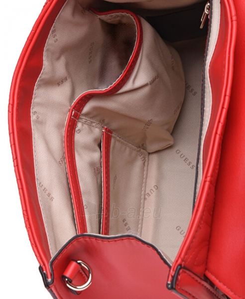 Rankinė Guess Ladies New Wave Top Handle Flap red-red Paveikslėlis 4 iš 5 310820207335