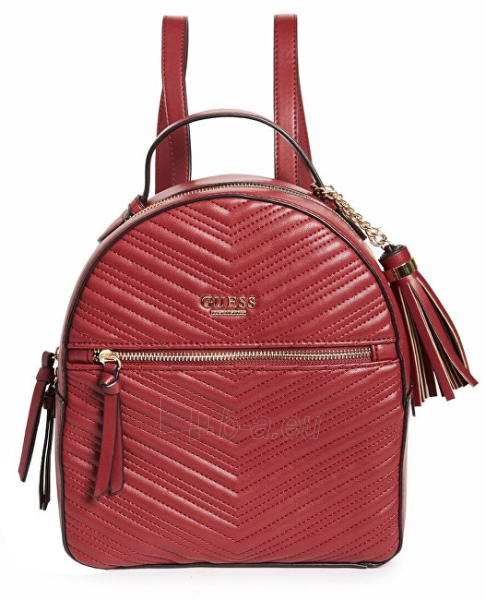 Rankinė Guess Women´s backpack Liz Quilted Backpack Burgundy Paveikslėlis 1 iš 1 310820192283
