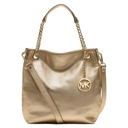Handbag Michael Kors Medium Jet Set Chain Shouldet Tote Gold 696545 Paveikslėlis 1 Iš 3 30063202046