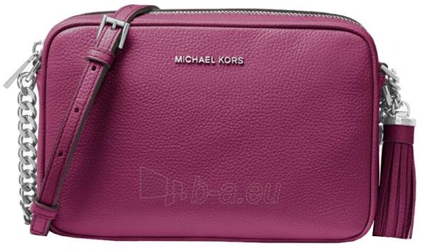 Rankinė Michael Kors Ginny Leather Crossbody Bag Garnet Paveikslėlis 1 iš 3 310820191353