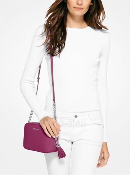 Rankinė Michael Kors Ginny Leather Crossbody Bag Garnet Paveikslėlis 3 iš 3 310820191353