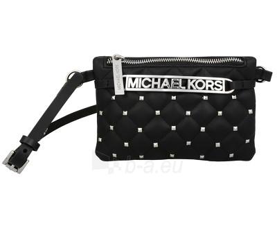 Handbag Michael Kors  Studded Logo Belt Bag - černá/stříbrná 553365c-2 (Dydis: S) Paveikslėlis 1 iš 1 30063202040