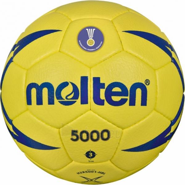 Rankinio kamuolys Molten H3X5001-HBL Paveikslėlis 1 iš 1 310820027483