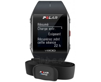 Rankinis laikrodis Polar V800 HR Black Paveikslėlis 1 iš 1 30100800547