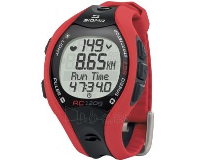 Manuāla pulksteni Sigma Sporttester RC 1209 Red Paveikslėlis 1 iš 2 30100800584