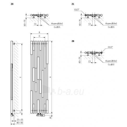 Rankšluosčių džiovintuvas - radiatorius