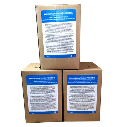 Rankų dezinfekantas AQM Hand Sanitizer, Biocidic, Alcohol free, 5 Liters Paveikslėlis 3 iš 4 310820216535