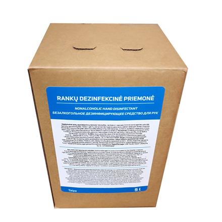 Rankų dezinfekantas AQM Hand Sanitizer, Biocidic, Alcohol free, 5 Liters Paveikslėlis 4 iš 4 310820216535