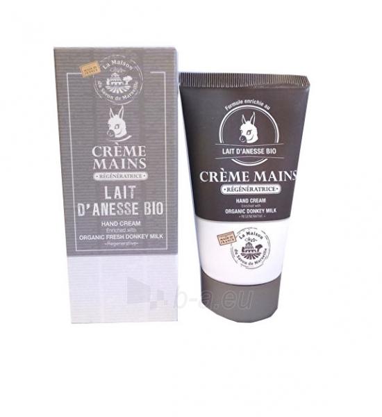 Rankų kremas La Maison du Savon de Marseille Hand Cream BIO Donkey Milk (Lait d`anesse Bio) 75 ml Paveikslėlis 1 iš 1 310820114416
