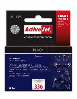 Rašalas ActiveJet AH-336S | black | 9 ml | HP HP 336 C9362EE Paveikslėlis 1 iš 1 310820044892