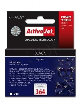 Rašalas ActiveJet AH-364BC | black | 10 ml | HP HP 364 CB316EE Paveikslėlis 1 iš 1 310820044900