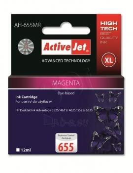 Rašalas ActiveJet AH-655MR | Magenta | 12 ml | HP HP 655 CZ111AE Paveikslėlis 1 iš 1 310820044906