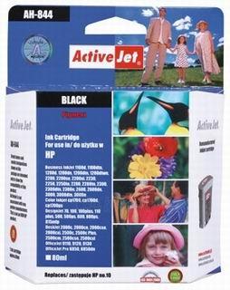Rašalas ActiveJet AH-844 | Black | 80 ml | Refill | HP C4844A Paveikslėlis 1 iš 1 310820044824