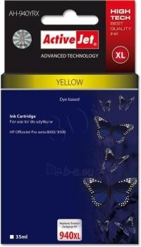 Rašalas ActiveJet AH-909 | Yellow | 35 ml | Refill | HP C4909AE Paveikslėlis 1 iš 1 310820044864