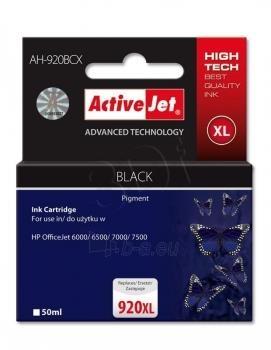 Rašalas ActiveJet AH-920BCX | black | 50 ml | HP HP 920XL CD975AE Paveikslėlis 1 iš 1 310820044884