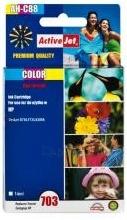 Rašalas ActiveJet AH-C88 | Color | Refill | 14 ml | HP CD888AE Paveikslėlis 1 iš 1 310820044858