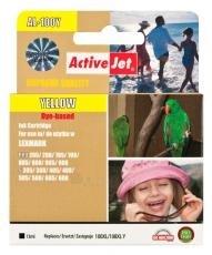 Rašalas ActiveJet AL-100Y | Yellow | 13 ml | Lexmark 14N1071E Paveikslėlis 1 iš 1 310820044872