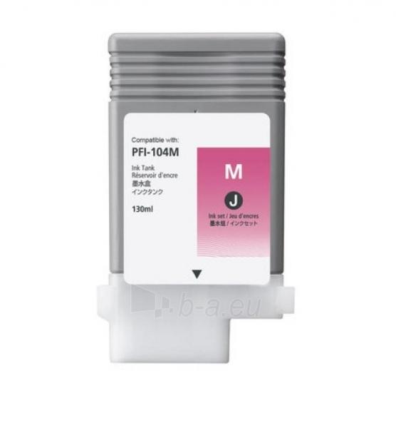 Rašalas Canon PFI104 Dye Magenta | 130ml | iPF650/655/750/755 Paveikslėlis 1 iš 1 2502534500166