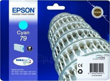 Rašalas Epson cyan T7912 | 7 ml | WF-5110DW/WF-5190DW/WF-5620DWF/WF-5690DWF Paveikslėlis 1 iš 1 2502534500339
