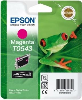 Rašalas Epson T0543 magenta   Stylus Photo R800/1800 Paveikslėlis 1 iš 1 2502534500402