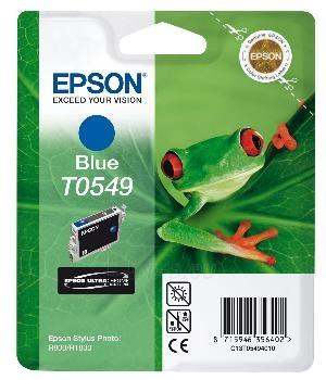 Rašalas Epson T0549 blue | Stylus Photo R800/1800 Paveikslėlis 1 iš 1 2502534500406