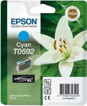 Rašalas Epson T0592 cyan | Stylus Photo R2400 Paveikslėlis 1 iš 1 2502560202318