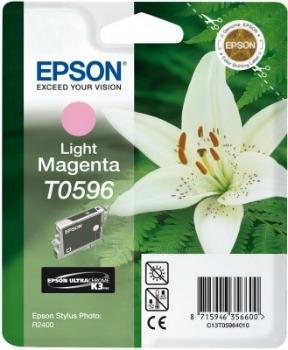 Rašalas Epson T0596 light magenta | Stylus Photo R2400 Paveikslėlis 1 iš 1 2502560202320