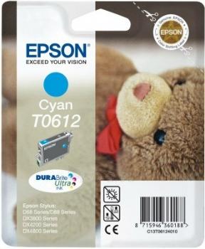 Rašalas Epson T0612 cyan DURABrite | Stylus D68 Photo Edition/88/88 Plus,DX3800/ Paveikslėlis 1 iš 1 2502534500415