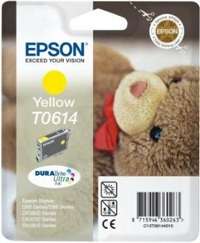 Rašalas Epson T0614 yellow DURABrite | Stylus D68 Photo Edition/88/88 Plus,DX380 Paveikslėlis 1 iš 1 2502560202322