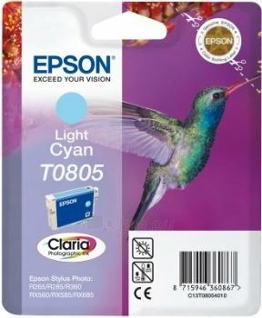 Rašalas Epson T0805 light cyan | Stylus Photo R265/285/360,RX560/585/685 Paveikslėlis 1 iš 1 2502534500430