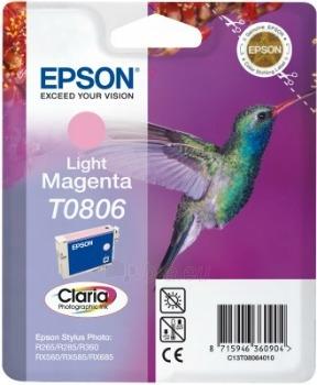 Rašalas Epson T0806 light magenta | Stylus Photo R265/285/360,RX560/585/685 Paveikslėlis 1 iš 1 2502534500431