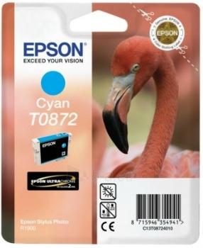 Rašalas Epson T0872 cyan Retail Pack BLISTER | Stylus Photo R1900 Paveikslėlis 1 iš 1 2502534500434