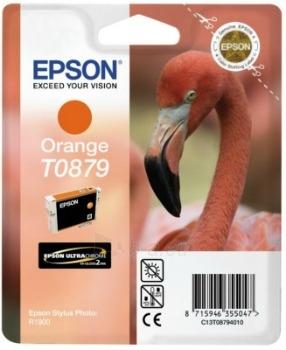 Rašalas Epson T0879 orange Retail Pack BLISTER | Stylus Photo R1900 Paveikslėlis 1 iš 1 2502534500437
