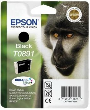 Rašalas Epson T0891 black DURABrite   5.8ml   Stylus S20/SX100/SX105/SX200/SX205 Paveikslėlis 1 iš 1 2502534500438