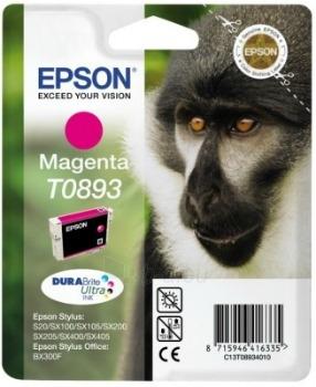 Rašalas Epson T0893 magenta DURABrite | 3.5ml | Stylus S20/SX100/SX105/SX200/SX2 Paveikslėlis 1 iš 1 2502534500440