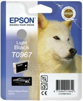 Rašalas Epson T0967 light black UltraChrome K3 | Stylus Photo R2880 Paveikslėlis 1 iš 1 2502534500447