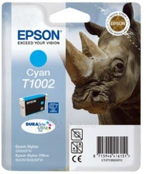 Rašalas Epson T1002 cyan DURABrite Ultra | 11.1ml | Epson Stylus Office B40W/BX6 Paveikslėlis 1 iš 1 2502534500450