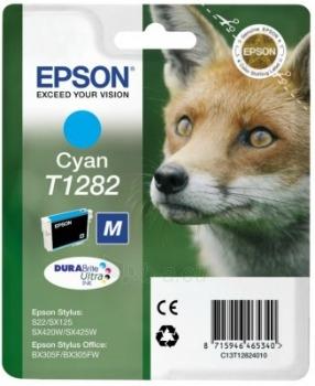Rašalas Epson T1282 cyan | Stylus S22/SX125/SX425W/BX305F Paveikslėlis 1 iš 1 2502534500453
