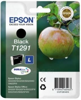 Rašalas Epson T1291 black | Stylus SX425W/SX525WD/BX305F/BX320FW/BX625FWD Paveikslėlis 1 iš 1 2502534500457