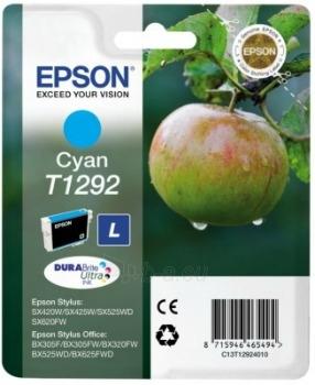 Rašalas Epson T1292 cyan   Stylus SX425W/SX525WD/BX305F/BX320FW/BX625FWD Paveikslėlis 1 iš 1 2502560202331