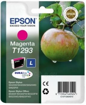 Rašalas Epson T1293 magenta | Stylus SX425W/SX525WD/BX305F/BX320FW/BX625FWD Paveikslėlis 1 iš 1 2502560202332