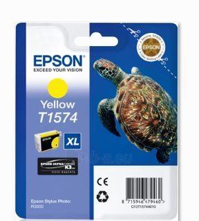 Rašalas Epson T1574 Yellow| 25,9 ml | R3000 Paveikslėlis 1 iš 1 2502534500461
