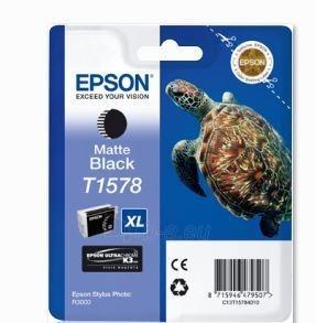 Rašalas Epson T1578 Matte Black | 25,9 ml | R3000 Paveikslėlis 1 iš 1 2502534500464