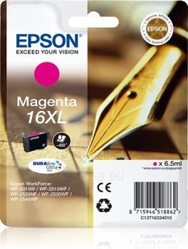 Rašalas Epson T1633 XL magenta DURABrite | 6,5 ml | WF-2010/25x0 Paveikslėlis 1 iš 1 2502534500470