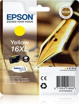 Rašalas Epson T1634 XL yellow DURABrite   6,5 ml   WF-2010/25x0 Paveikslėlis 1 iš 1 2502534500471
