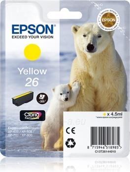 Rašalas Epson T2614 yellow Claria | 4,5 ml | XP-600/700/800 Paveikslėlis 1 iš 1 2502534500484