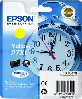 Rašalas Epson T2714 Yellow XL DURABrite Paveikslėlis 1 iš 1 2502534500487