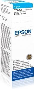 Rašalas Epson T6642 Cyan bottle| L100/L200 Paveikslėlis 1 iš 1 2502534500495