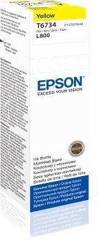 Rašalas Epson T6733 yellow| 70 ml | L800 Paveikslėlis 1 iš 1 2502534500501